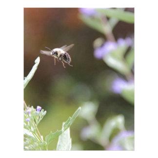 Bumble Bee Custom Letterhead