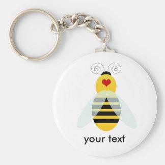 bumble bee cuties keychain