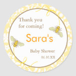 Bumble Bee Favour Sticker or Address Label