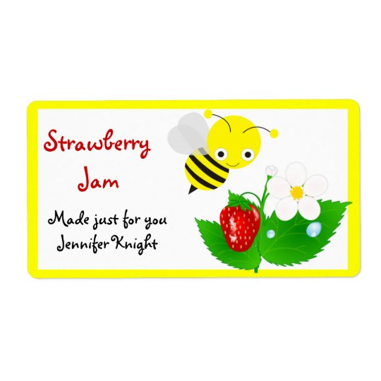 Bumble Bee Food Labels