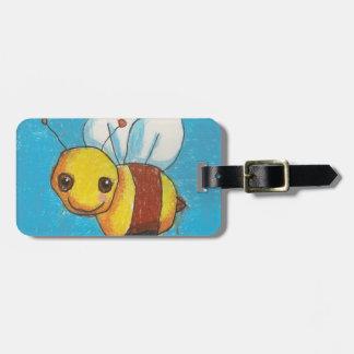 Bumble Bee/Frog Luggage Tag