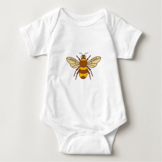 Bumble Bee Icon Baby Bodysuit