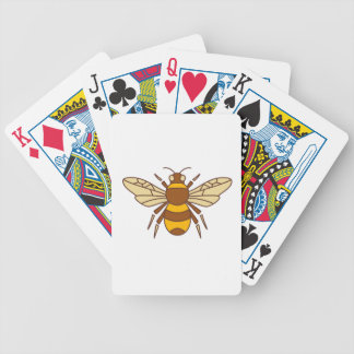 Bumble Bee Icon Bicycle Playing Cards