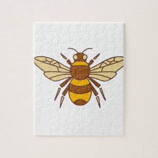 Bumble Bee Icon Jigsaw Puzzle