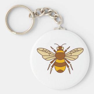 Bumble Bee Icon Keychain