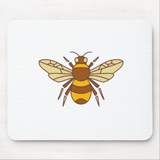 Bumble Bee Icon Mouse Pad