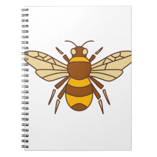 Bumble Bee Icon Notebook