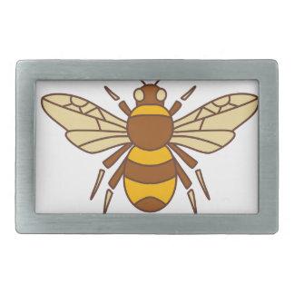 Bumble Bee Icon Rectangular Belt Buckles