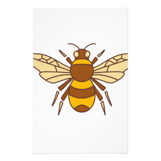 Bumble Bee Icon Stationery