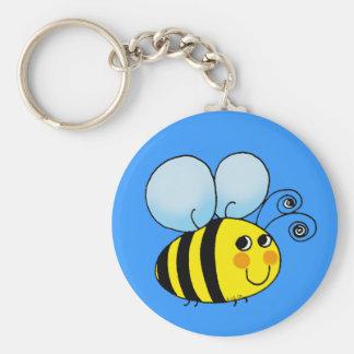 Bumble bee keychain