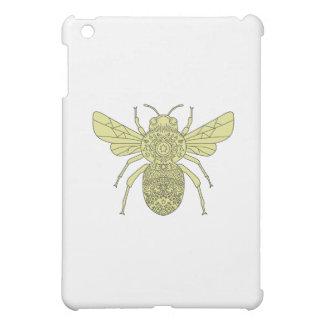 Bumble Bee Mandala Case For The iPad Mini