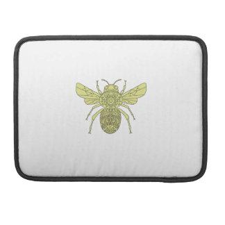 Bumble Bee Mandala Sleeve For MacBooks