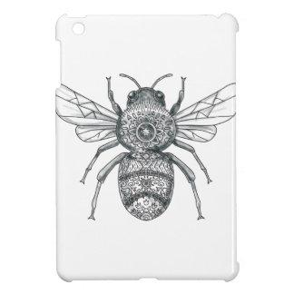 Bumble Bee Mandala Tattoo Cover For The iPad Mini
