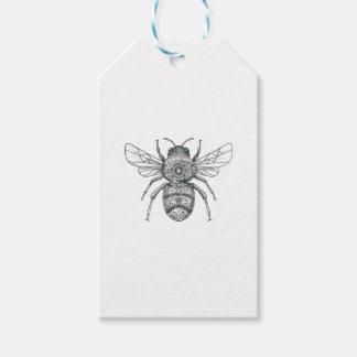 Bumble Bee Mandala Tattoo Gift Tags