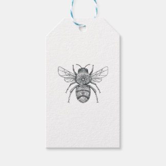 Bumble Bee Mandala Tattoo Pack Of Gift Tags