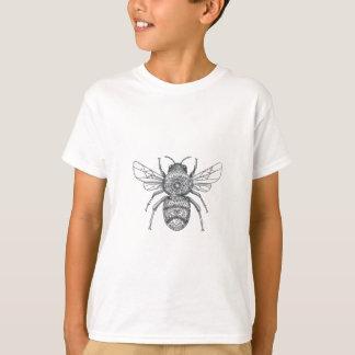 Bumble Bee Mandala Tattoo T-Shirt
