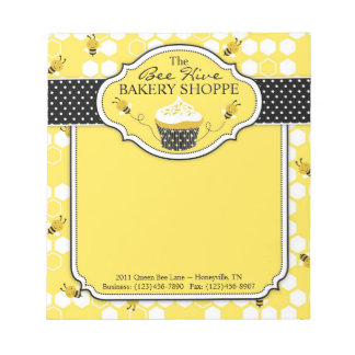 Bumble Bee Mini Notepad