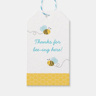 Bumble Bee Party Favor Gift Tags