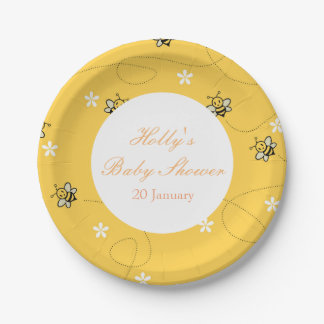 Bumble Bee Party Paper Plates