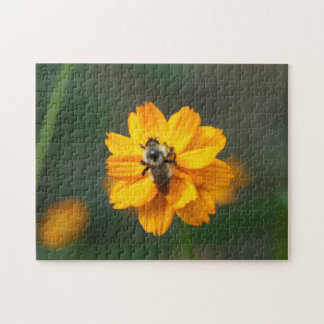 Bumble Bee, Photo Puzzle. Jigsaw Puzzle