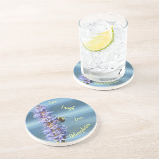 Bumble Bee Pickerelweed Coaster