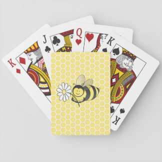 Bumble bee playing cards