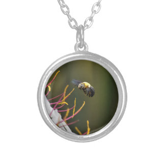 BUMBLE BEE QUEENSLAND AUSTRALIA SILVER PLATED NECKLACE