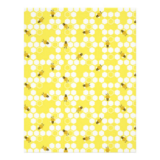 Bumble Bee Scrapbook Paper
