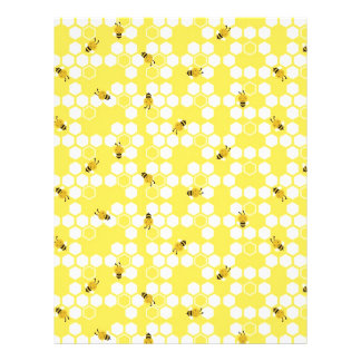 Bumble Bee Scrapbook Paper Dual-sided