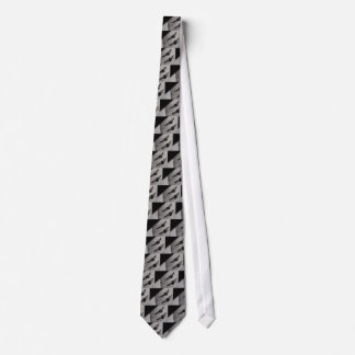 Bumble Bee Silhouette Shadow Tie