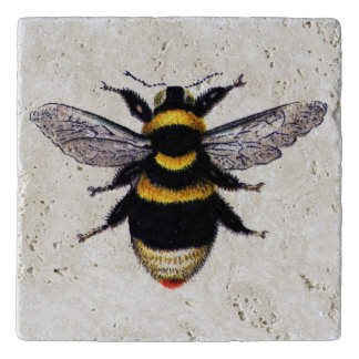 Bumble Bee Stone Trivet