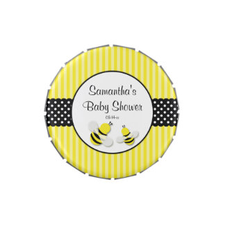 Bumble Bee Striped Dots Baby Shower