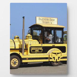 Bumble Bee Train, Noumea, New Caledonia Plaque