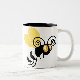 Bumble bee Two-Tone coffee mug