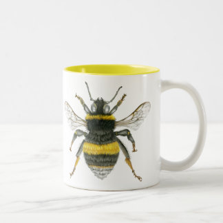 Bumble Bee Two Tone Mug