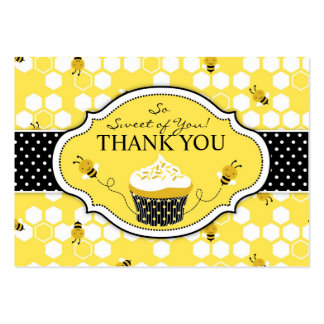 Bumble Bee TY Gift Tag Large Business Card