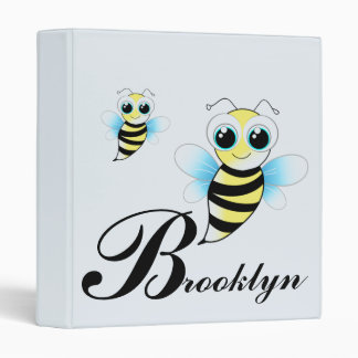 Bumble Bees 3 Ring Binders