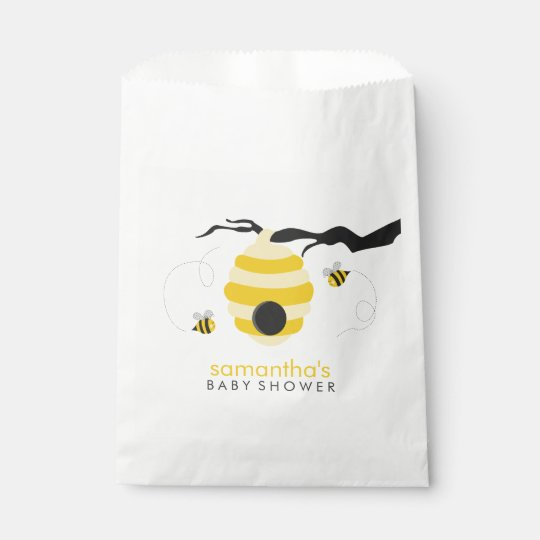 Bumble Bees Baby Shower Favour Bag