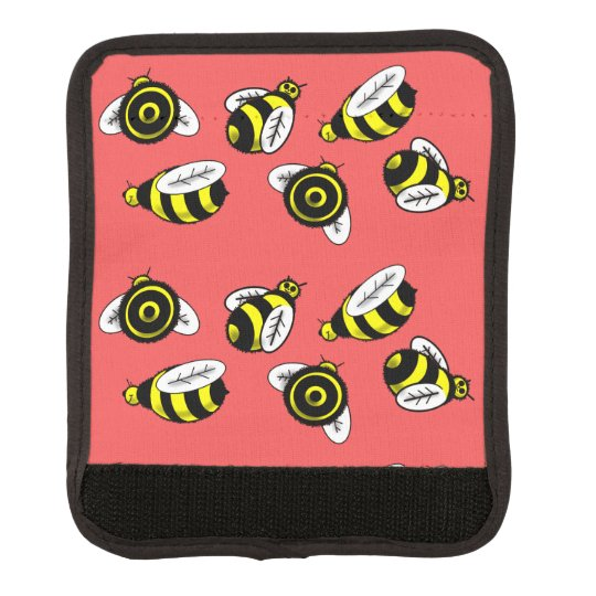 BUMBLE BEES by Slipperywindow Luggage Handle Wrap