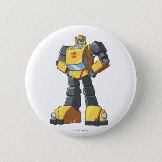 Bumblebee 1 2 inch round button