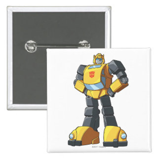 Bumblebee 1 2 inch square button