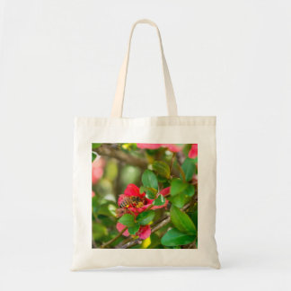 Bumblebee And Azalea Tote Bag