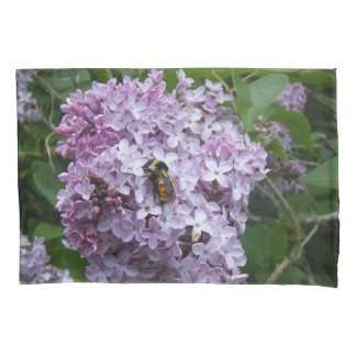 Bumblebee and Lilac Pillowcase