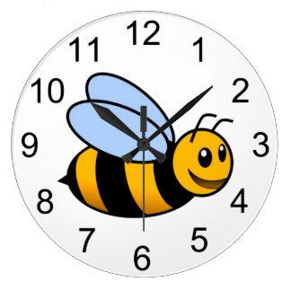 Bumblebee Animal Wall Clock