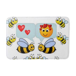 bumblebee bathroom bathmat