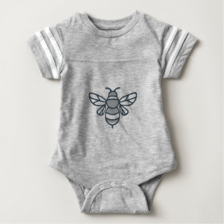Bumblebee Bee Icon Baby Bodysuit