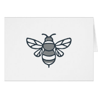 Bumblebee Bee Icon Card