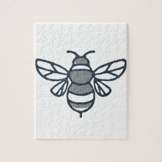 Bumblebee Bee Icon Jigsaw Puzzle
