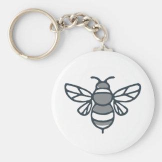 Bumblebee Bee Icon Keychain