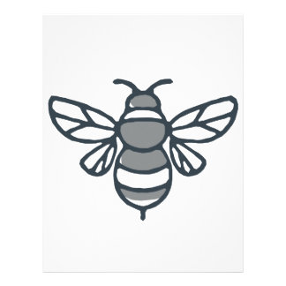 Bumblebee Bee Icon Letterhead